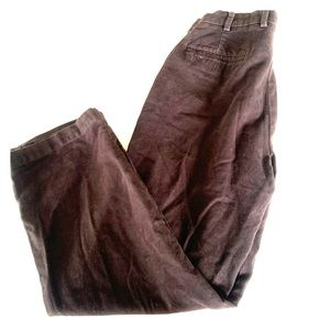 3/$15!! Brooks Brothers brown casual pants